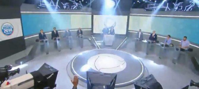 ELEIÇÃO PRESIDENCIAL: Bolsonaro vira alvo de presidenciáveis em debate na esteira do #elenão