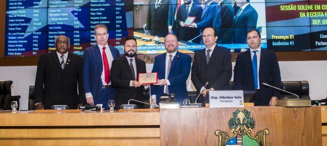 SESSÃO SOLENE: Assembleia Legislativa faz homenagem aos 50 anos da Receita Federal do Brasil