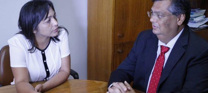 BRASÍLIA: Flávio Dino e Eliziane discutem projetos em benefício do Maranhão