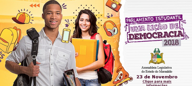 MARANHÃO: Deputados estudantes vão ser empossados no Parlamento Estudantil, nesta sexta (23)
