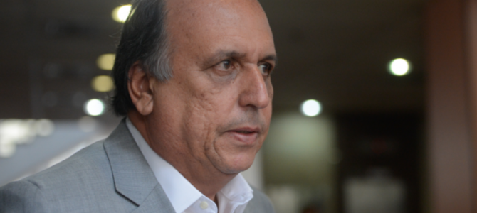 MAIS UM PEIXE GRAÚDO: PF prende Luiz Fernando Pezão, governador do Rio de Janeiro