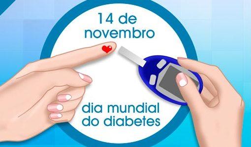 DIA MUNDIAL DO DIABETES: Mudança no estilo de vida é fator importante no controle da doença