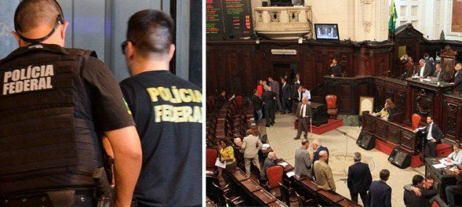 CORRUPTOS NA CADEIA: PF prende dez deputados do Rio e secretário do governador, nesta quinta (8)