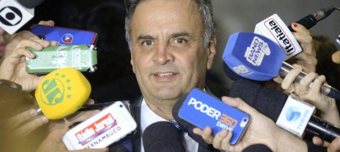 DELAÇÃO: JBS diz que Aécio comprou apoio de 12 partidos em 2014, por R$ 110 milhões