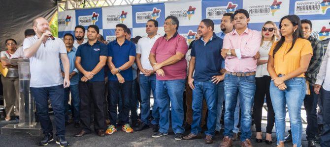 NOVA RODOVIA: Othelino participa de inauguração da estrada que liga Barreirinhas a Paulino Neves